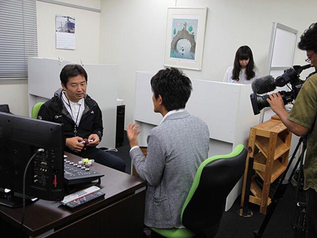 名古屋テレビ「ドデスカ!」取材風景