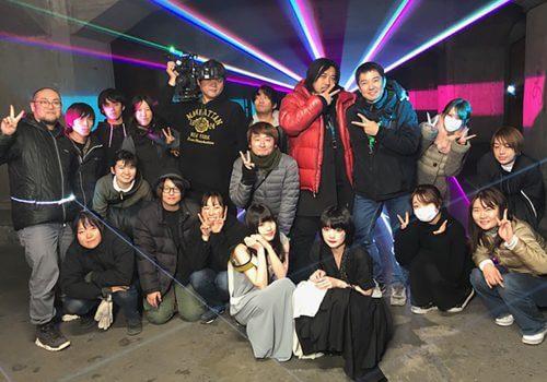ASCA 『RESISTER』MV撮影スタッフ集合写真